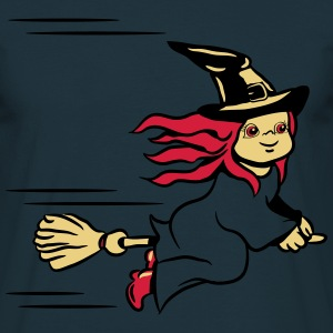 Hat fly little witch broom T-Shirts - Men's T-Shirt