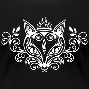 Vos What does the fox say? bos voorjaar zomer gift T-shirts - Vrouwen Premium T-shirt