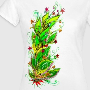 Jungle Flower, forest, summer, vacation, beach Magliette - Maglietta da donna