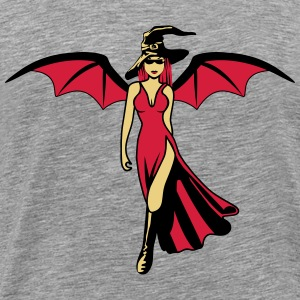 Witch Hat sexy Angel T-Shirts - Men's Premium T-Shirt