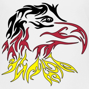 Adler Tribal germany T-Shirts - Teenager Premium T-Shirt