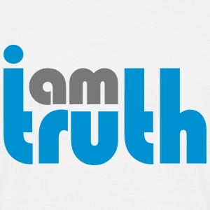 I am truth - Men's T-Shirt