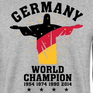 GERMANY WORLD CHAMPION 1954,1974,1990,2014 Pullover & Hoodies - Männer Pullover