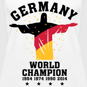 GERMANY WORLD CHAMPION 1954,1974,1990,2014 Tops - Frauen Premium Tank Top