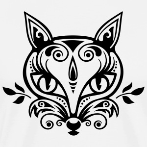 Vos What does the fox say? bos voorjaar zomer gift T-shirts - Mannen Premium T-shirt