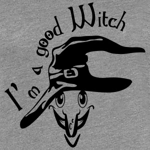 God heks witch Hat T-skjorter - Premium T-skjorte for kvinner