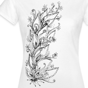 Jungle Flower, forest, summer, vacation, beach Tee shirts - T-shirt Femme