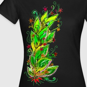 Jungle Flower, forest, summer, vacation, beach T-S - Frauen T-Shirt