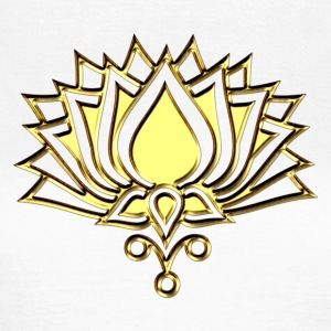 GOLDEN LOTUS/ c /symbol of divinity, enlightenment and higher consciousness/ LOTOS I T-Shirts - Women's T-Shirt
