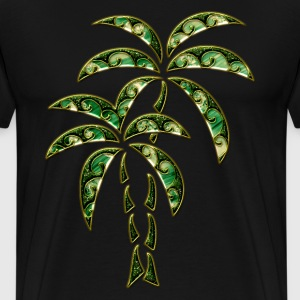Palm Tree / Tattoo Style / DD / Hoodies & Sweatshirts - Men's Premium T-Shirt