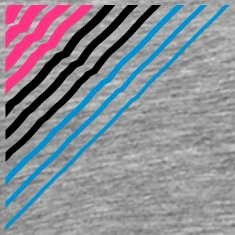 Triangular shape lines Many lines pattern T-Shirts