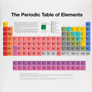 Periodic Table of Elements (PTE) dark Shirts - Kids' Premium T-Shirt