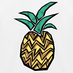 Crazy Pineapple T-Shirts - Kinder Baseball T-Shirt