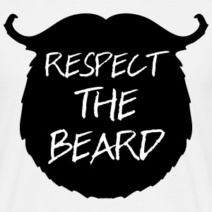 Respect The Beard 2 Koszulki - Koszulka męska