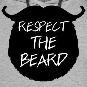Respect The Beard 2 Sweaters - Mannen Premium hoodie