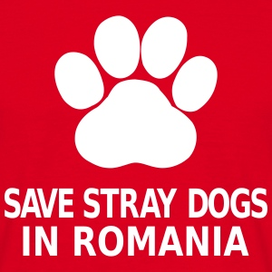 Save Stray Dogs In Romania T-Shirts - Männer T-Shirt