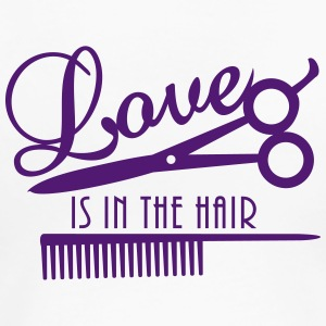 love is in the hair (d, 1c) T-Shirts - Women's Premium T-Shirt