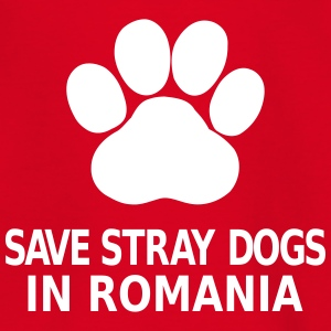 Save Stray Dogs In Romania Shirts - Kids' T-Shirt