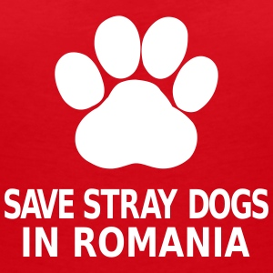 Save Stray Dogs In Romania Magliette - Maglietta da donna scollo a V