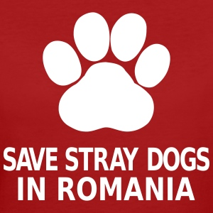 Save Stray Dogs In Romania T-shirts - Ekologisk T-shirt dam