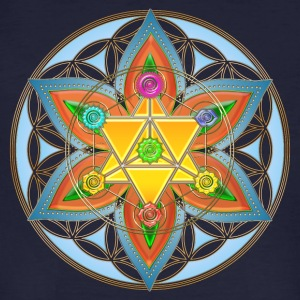 Flower of Life, Merkaba, Chakras, Metatron T-Shirts - Men's Organic T-shirt
