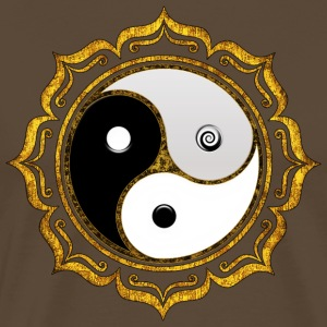 Yin Yang Balance Tao Triskele Triforce Chinese Dao Tops - Camiseta premium hombre
