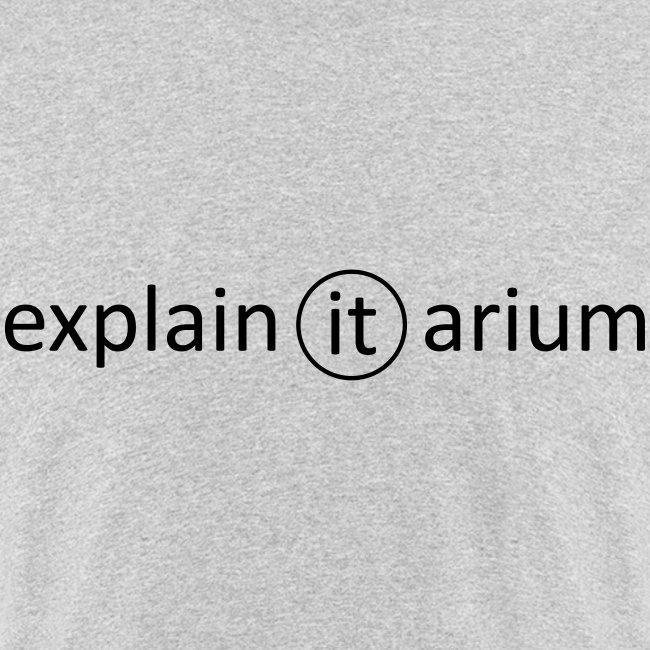 Explain-It-simple - schwarz