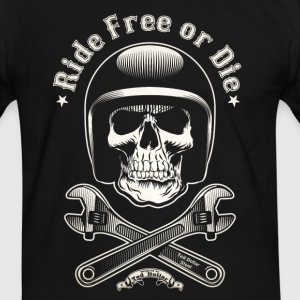 Ride Free or Die - T-shirt contraste Homme