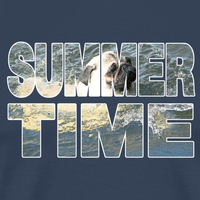 Mops Sommer T-Shirt