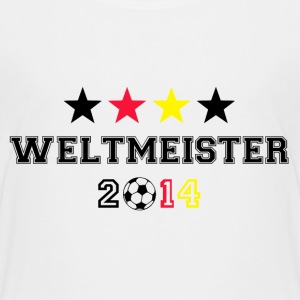 Weltmeister 4 Sterne 2014 T-Shirts - Teenager Premium T-Shirt