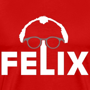 Felix with glasses T-Shirts - Men's Premium T-Shirt