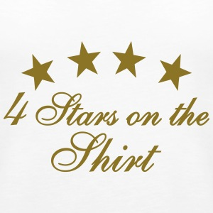 4 Stars On The Shirt Tops - Frauen Premium Tank Top