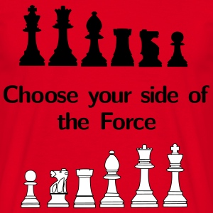 Choose your side of the Force Magliette - Maglietta da uomo