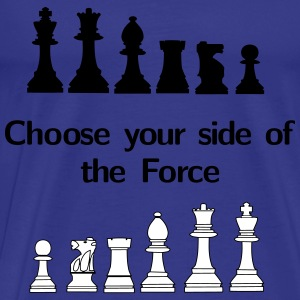 Choose your side of the Force Camisetas - Camiseta premium hombre