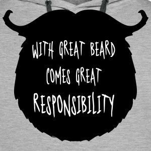 Great Beard Responsibility  Sweaters - Mannen Premium hoodie