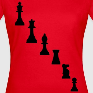 Schachfiguren T-Shirts - Frauen T-Shirt