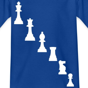 Schachfiguren Shirts - Kids' T-Shirt