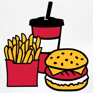 Fast food T-Shirts - Frauen T-Shirt
