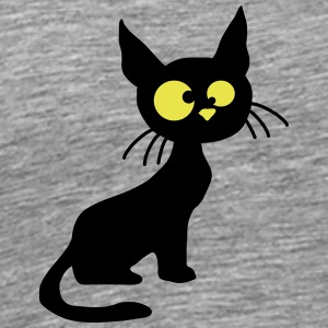 Crazy Stupid Funny Little Cat T-Shirts - Men's Premium T-Shirt