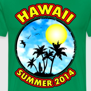 hawaii summer 2014 Tee shirts - T-shirt Premium Homme