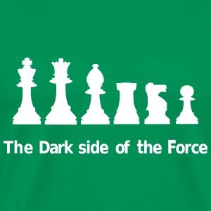 The Dark Side of the Force Camisetas - Camiseta premium hombre