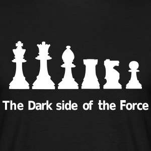 The Dark Side of the Force T-shirts - T-shirt herr