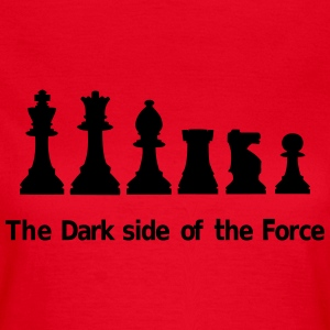 The Dark Side of the Force Camisetas - Camiseta mujer