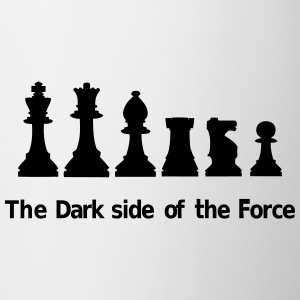 The Dark Side of the Force Bottiglie e tazze - Tazza
