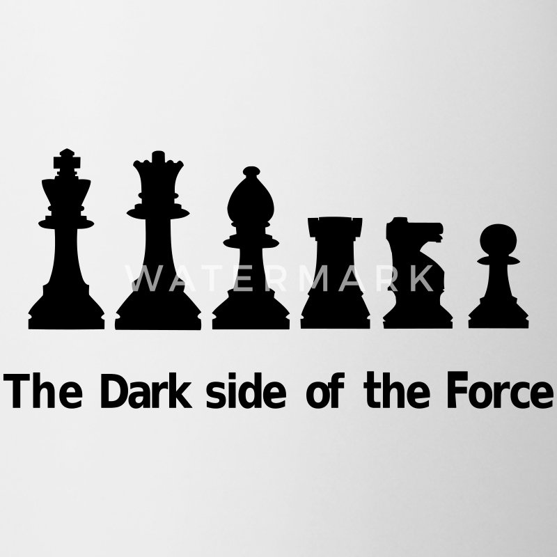 The Dark Side of the Force Flasker & krus - Kop/krus