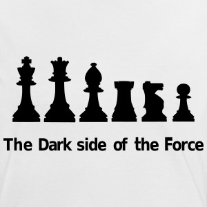 The Dark Side of the Force T-Shirts - Women's Ringer T-Shirt