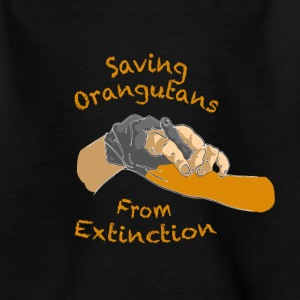 Saving orangutans Teenage tshirt - Teenage T-shirt