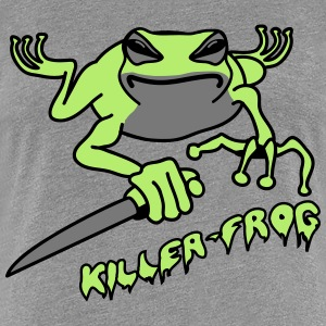 Frog knife killer wicked cool T-Shirts - Women's Premium T-Shirt