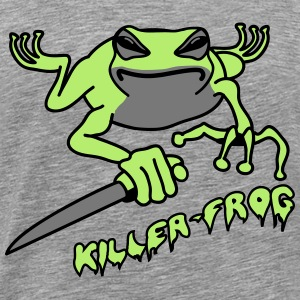Frog knife killer wicked cool T-Shirts - Men's Premium T-Shirt
