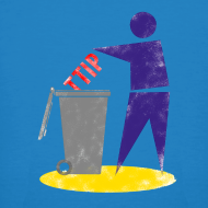 Motiv ~ TTIP in die Tonne (Bio, Unisex)
